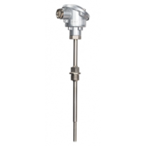 KMF - Resistance thermometer for liquid media with terminal head from B