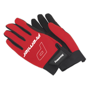 Sealey - Mechanic's Gloves Padded Palm - Large, MG796L