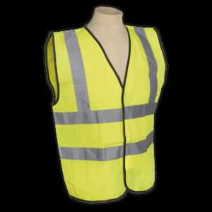 Sealey - High Visibility Waistcoat EN ISO 20471 Large, SSPHV-L