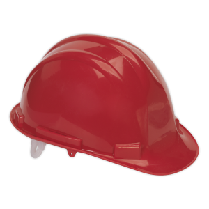 Sealey - Safety Helmet Red BS EN 397, SSP17