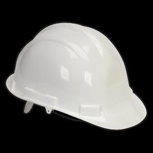 Sealey - Safety Helmet White BS EN 397, SSP17W