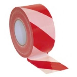 80mm x 100mtr Hazard Warning Barrier Tape, Non-adhesive