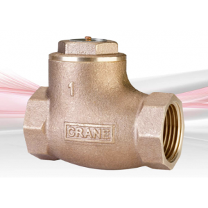 Crane Fluid Systems - PN20 Bronze Swing Check Valve with Metal Disc, D135