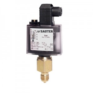 Sauter Pressure Monitor and Pressure Switch, DSB, DSF