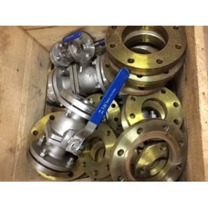 Stainless Steel Flange Set