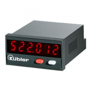 Kübler - electronic LED Frequency Meter Codix Tachometer 522