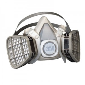 3M Half Facepiece Disposable Respirator Assembly, 5101