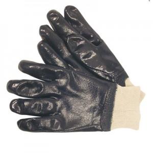 JSP Heavy Duty Nitrile Knitwrist Glove, ACG275-4J0-500