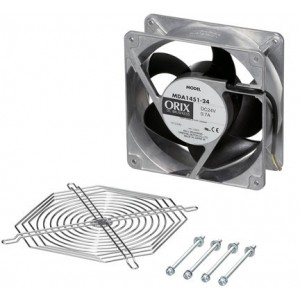 Oriental motor - 5.51 in. (140 mm) Axial Fan Kit, T-MDA1451-24-G