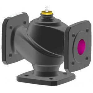 Sauter - Regulating valves combined with drive - 2-way flanged valve, PN 6 (pn.), VUD