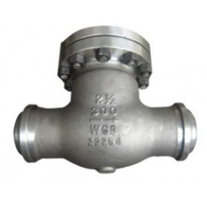 API 598 Alloy Steel A217 WC9 Swing Check Valves, BW End