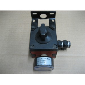 E+L service unit with air regulator and gauge 0-25 bar Type : NT2105