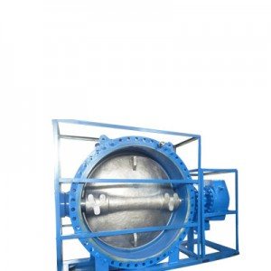 Ductile Iron Butterfly Valve, EPDM Seat, Gear Operated