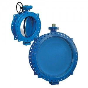 Double Flanged Butterfly Valve, Keystone, F627