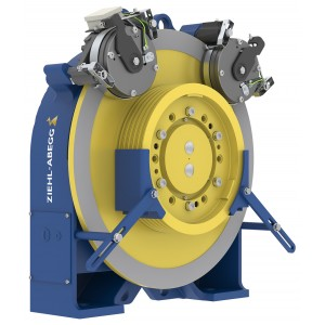 Ziehl-Abegg - Elevator motors, ZAsyn